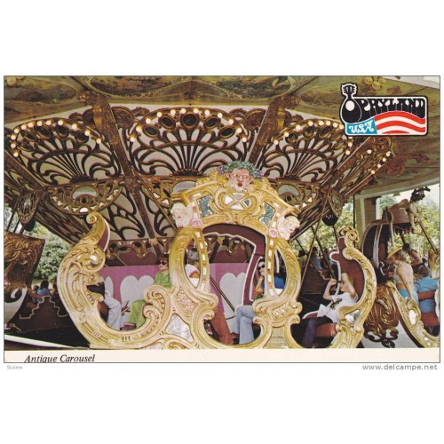 Opryland Carousel,restoration project